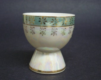 Great Quality Vintage Egg Cup Lusterware Luster Ware