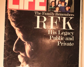 Vintage LIFE Magazine June 1988 The Family Remembers JFK, His Legacy Public and Private