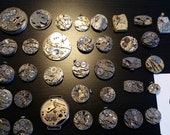 Watch Movement Lot for Steampunk / Mixed Media