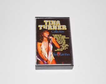 Tina Turner Collection - Best Rarities - Vintage Music Cassette Tape