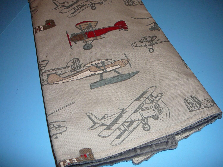 Vintage Airplanes Blanket