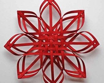 Red Carolina Snowflake