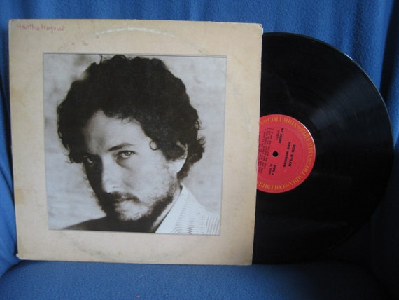 "Vintage, Bob Dylan - ""New Morning"" Vinyl LP Record Album, 1970 Columbia Red Label, Folk Rock Country"