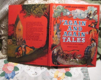 Read Again Series Again and Again Tales Illustrated by Eric Kincaid Vint Brimax Books :)s Vintage Children's Book, Children Book,