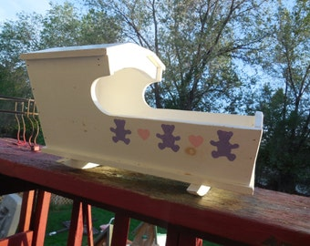 Doll Cradle Vintage Sweet Quaker Style 18 inches long,10 inches tall,11 inches wide / :) S