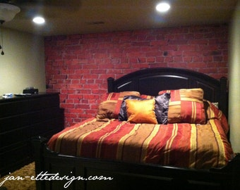 Brick Wall Mural Wall Decal