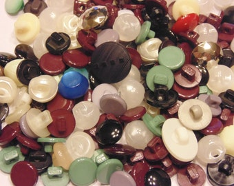 50 piece assorted shank button mix, 9-14 mm (45)