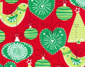 Michael Miller fabric CHRISTMAS ORNAMENTS