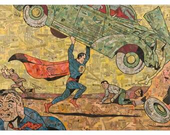 Action Comics #1 Print 11x17