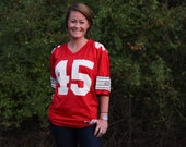 Fear the Nut - Vintage Archie Griffin - Number 45 - Ohio State Buckeyes Champion Jersey - FREE SHIPPING