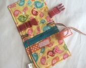 Birds Busy blanket - a buckle, snap, zip, Velcro, and button toy - fine motor skills practice