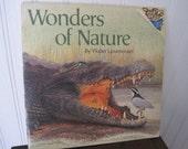 Vintage Wonders of Nature book by Walter Linsenmaier
