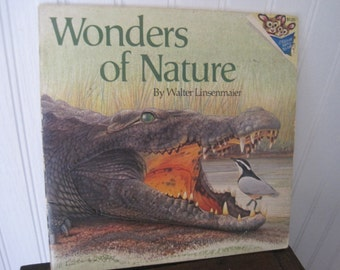 Vintage Wonders of Nature book by Walter Linsenmaier
