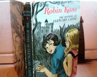 Robin Kane, The Mystery of Glengary Castle, by Eileen Hill, Vintage childrens hardcover storybook