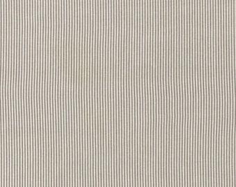 SALE - SUNBURST STRIPE by dear Stella - Pewter - 1 Yard - Quilting Weight Cotton Fabric