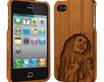 Bob Marley - Bamboo iPhone 5/5s Case, Wood iPhone 5/5s Case, iPhone 5 / 5s Case