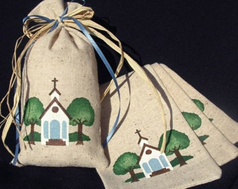 25 Fabric Gift Bags - Countryside Church