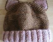 PDF pattern Cat Baby Hat
