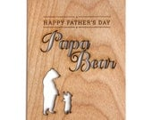 Father's Day Card -- Papa Bear, Awesome Fathers Day Card