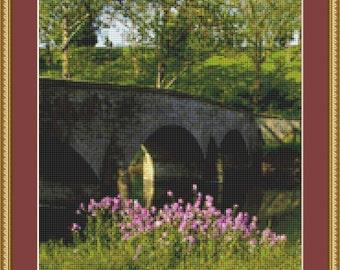 Burnside Bridge Cross Stitch Pattern