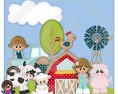 Fun On The Farm Clip art  Clipart Graphics  Commercial Use Teddy Bear Toys