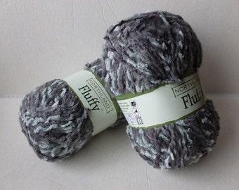 Yarn Sale  - Grey Mix Fluffy by Northland