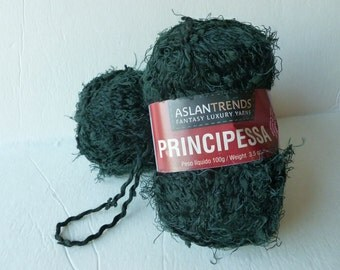 Yarn Sale  - Black Principessa by Aslandtrends Fantasy Luxury Yarns