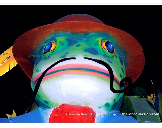 La Grenouille Photo - Mardi Gras Frog