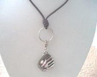 Baseball Lucky Catchers Mitt Necklace - :)