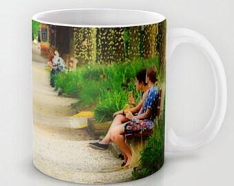 Coffee Mug Ceramic Mug Kenyon College Gambier Ohio Middle Path