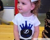 Personalized Hockey Princess or Sister Shirt