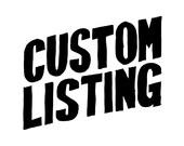 Custom Listing for Georgia - Little Man Birthday Party Invitation