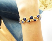 Mother daughter jewelry, matching evil eye bracelet sets blue  evil eye bracelets mother jewelry friendship bracelet