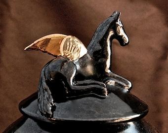 Winged Horse Urn