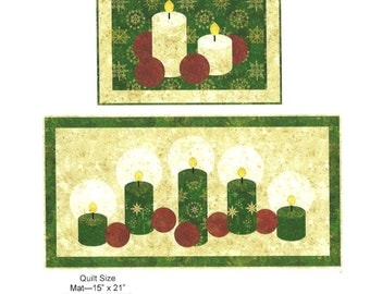 HOLIDAY LIGHTS Placemat Kit