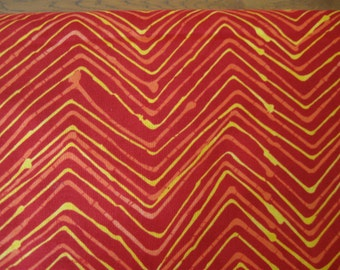 Simple Marks Summer Quilting Fabric in Tomato by Malka DuBrawsky for Moda 1 yard