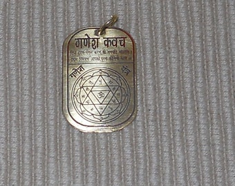 Maha Ganesh Ganapati Divine Frequency Resonance Pendant