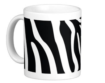 Zebra Coffee Mug, hs0174