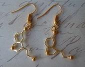 Biolojewelry - Mini Serotonin Earrings
