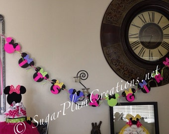 Minnie Mouse Baby Shower Banner or Birthday Banner
