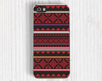 Red Aztec Pattern iPhone 6s case, iPhone 6/6S Plus | iPhone 5/5S | iPhone 5C | iPhone 4 case