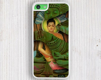 Green Buddha iPhone 5C Case - iPhone 5/5s Case, iPhone 4/4s Cover