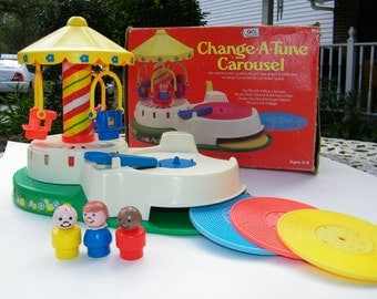 Fisher Price Change A Tune Carouse 1980