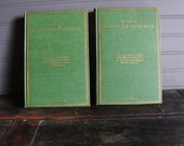 Vintage The Book of Popular Science Set of Two