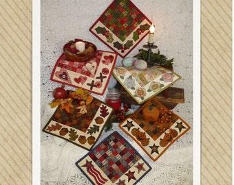 Seasonal Mats PDF quilt pattern