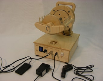 8 oz FIRE FLY electric spinning wheel from SpinOlution,  8 ounce flyer with 3 bobbins, FREE shipping in lower 48 states