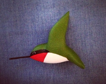 Flying Hummingbird Ornament