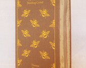 Custom Order for Imogen: Zippered Book Clutch, Thomas Hardy, Botanical