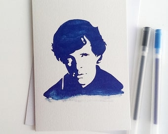 Benedict Cumberbatch, Sherlock Holmes, Star Trek, War Horse, Greetings Card