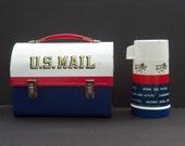 Vintage 1969 Mr. Zip U.S Mail Lunch Box